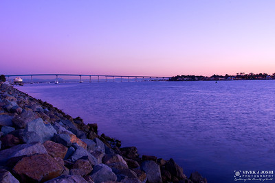 Sunset View of Coronado Bridge