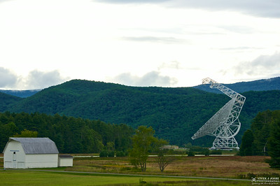 Green Bank Telescope, National Radio Astronomy Observatory, WV