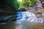 Lucifer Falls at Robert Treman State Park, NY