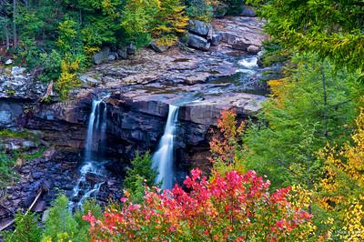 Autumn at Blackwater Falls State Park, WV